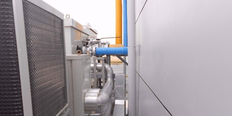 CHILLER & PIPING WORK