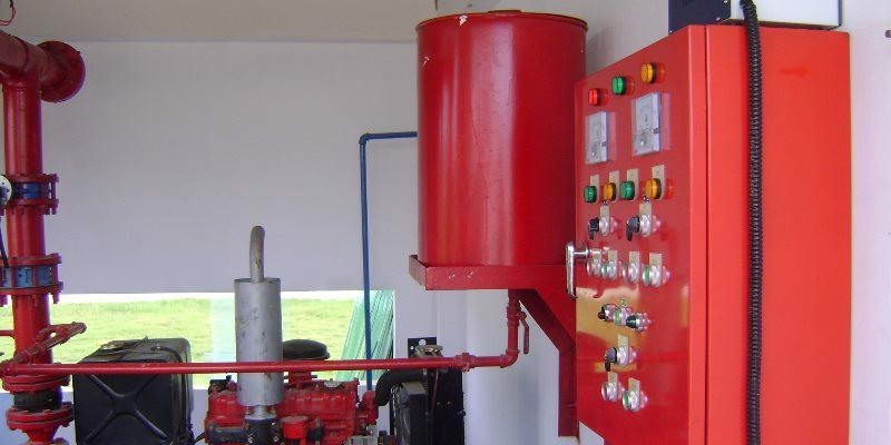 FIRE FIGHTING & HIGH VOLTAGE SUBSTATION